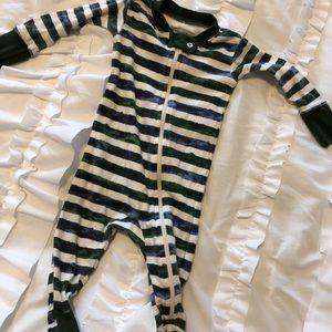 Burt's Bees Baby sleeper jammies